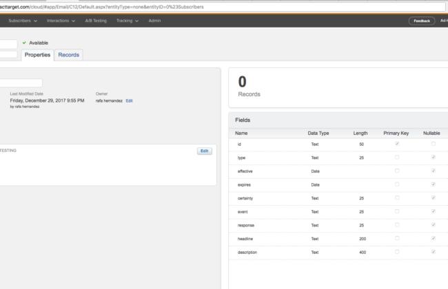 Salesforce Marketing Cloud API Heroku Integration - Rafa H